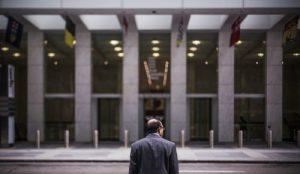 Executive waiting